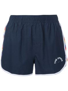 короткие шорты с полосками по бокам The Upside