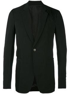 пиджак с драпировками Rick Owens