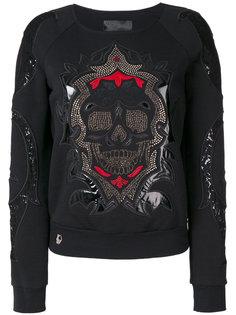 свитер с вышивкой  Philipp Plein