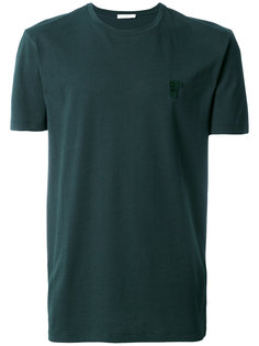 футболка с вышивкой логотипа Versace Collection