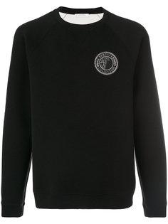 толстовка с нашивкой логотипа Versace Collection