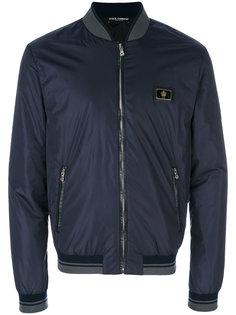 классическая куртка-бомбер Dolce & Gabbana