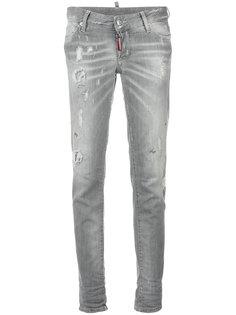 джинсы с выцветшим эффектом Jennifer Dsquared2