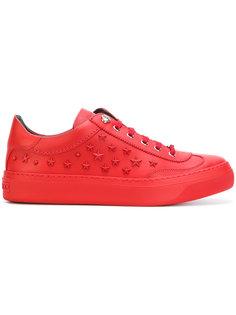 кроссовки с заклепками-звездами Jimmy Choo