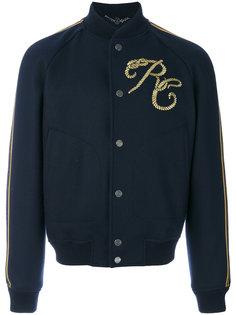 куртка-бомбер с вышивкой Roberto Cavalli