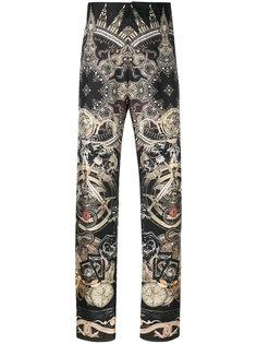 пижамные брюки с принтом пейсли Roberto Cavalli