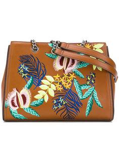 сумка на плечо с вышивкой Essentiel Antwerp