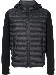 куртка с дутым передом и капюшоном Prada