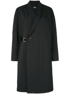 пальто с запахом и поясом The Reracs