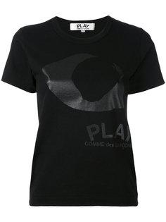 футболка с принтом глаза Comme Des Garçons Play
