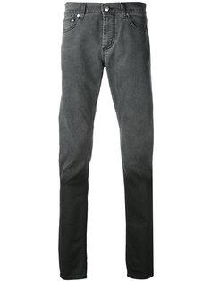 прямые джинсы с градиентным эффектом Alexander McQueen
