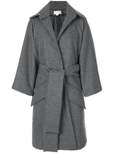 пальто свободного кроя с запахом Antonio Berardi