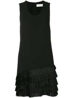 платье с плиссированным подолом Victoria Victoria Beckham