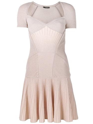 трикотажное платье-мини Alexander McQueen