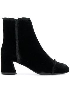 ботинки с бахромой Stuart Weitzman