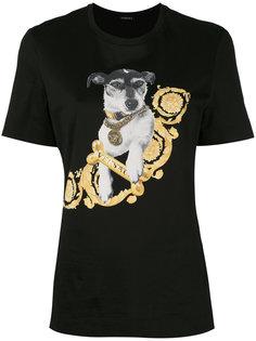 футболка с принтом Audrey Versace