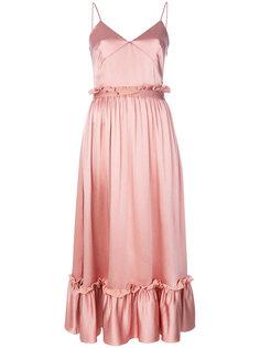 платье с плиссированным подолом MSGM