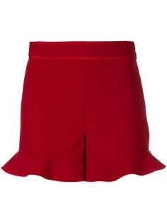 шорты с расклешенным низом Red Valentino