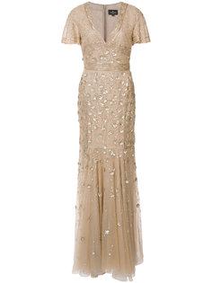 платье с отделкой  J. Mendel