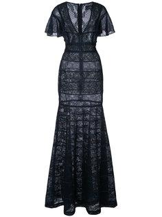 кружевное платье  J. Mendel