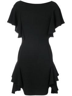 платье со свободными рукавами  J. Mendel