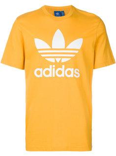 футболка с принтом логотипа Adidas