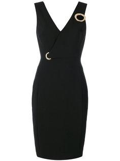 приталенное платье Versace Collection