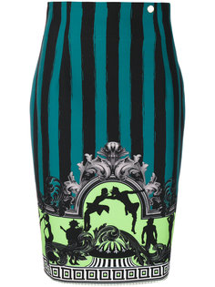 юбка с вышивкой Versace Collection