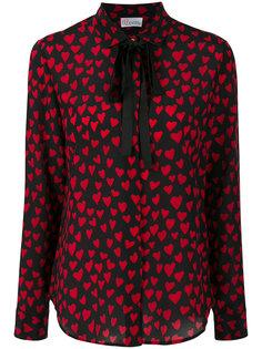 блузка с вышивкой Red Valentino