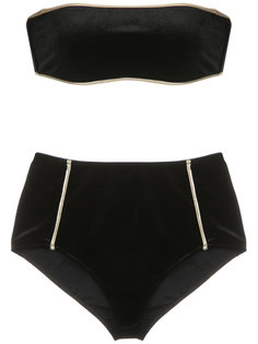 hot pants velvet bikini set Adriana Degreas