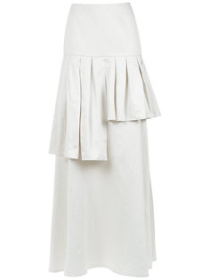 ruffled maxi skirt Adriana Degreas