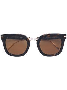 квадратные солнцезащитные очки Tom Ford Eyewear