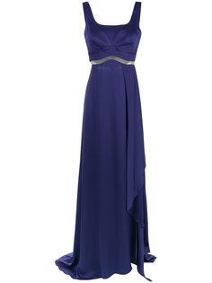cut out details gown Tufi Duek