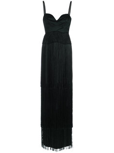 fringed gown Tufi Duek