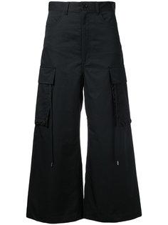 кюлоты с карманами и шнуровкой G.V.G.V.