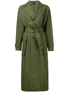 пальто с декоративной обметкой на карманах G.V.G.V.