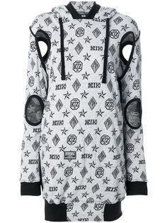 платье-свитер с принтом логотипа KTZ