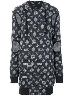 платье-свитер с принтом логоипа KTZ