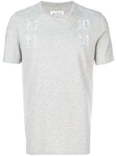 футболка с принтом MM Maison Margiela