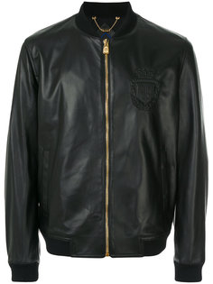 куртка-бомбер на молнии Billionaire