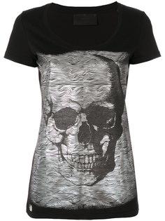 футболка с декором в форме черепа Philipp Plein
