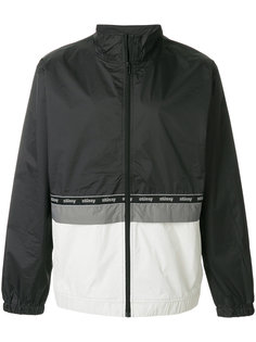 приталенная куртка с контрастными панелями Stussy