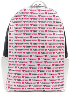 рюкзак со сплошным принтом логотипа Plein Sport