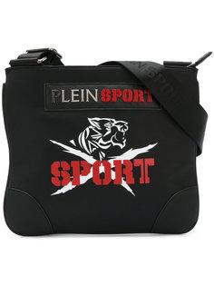сумка-почтальонка с принтом логотипа Plein Sport