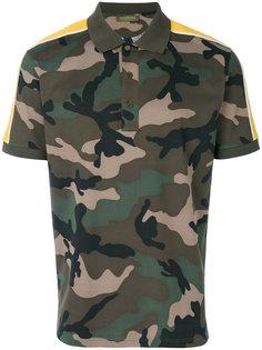футболка с камуфляжным принтом Valentino