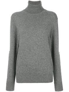 трикотажный свитер с отворотом  Joseph