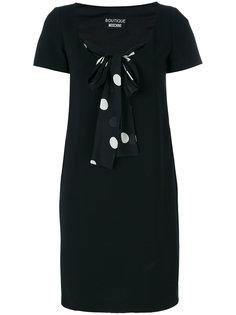 платье с завязками в горох Boutique Moschino