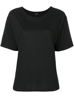 футболка с вырезом-ковшом Theory