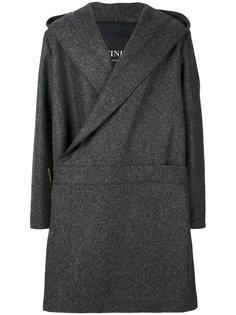 пальто с запахом Cini