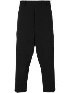 укороченные брюки Astaire Rick Owens